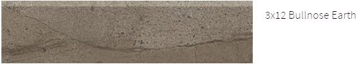 Amelia Marble 3x12 Bullnose Earth #amelia #marble #faberstoneandtile