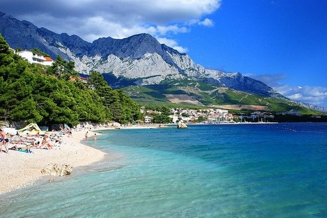 Baska Voda, Croatia......