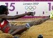 Caterine Ibargüen: ¡vuelo de plata en el salto triple olímpico!