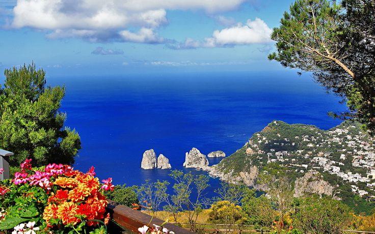 Живописный остров Капри (Capri), Италия. Обсуждение на LiveInternet - Российский Сервис Онлайн-Дневников
