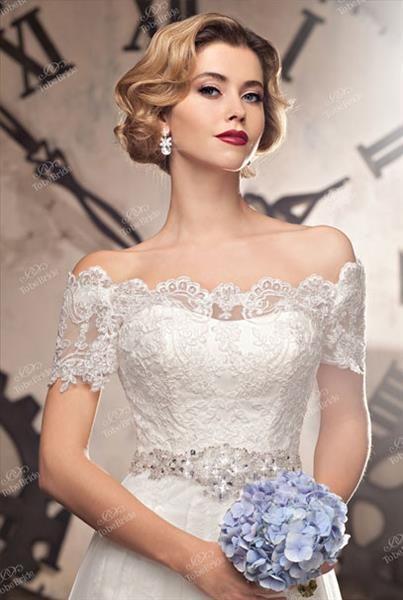 Свадебный салон платье вырез лодочка