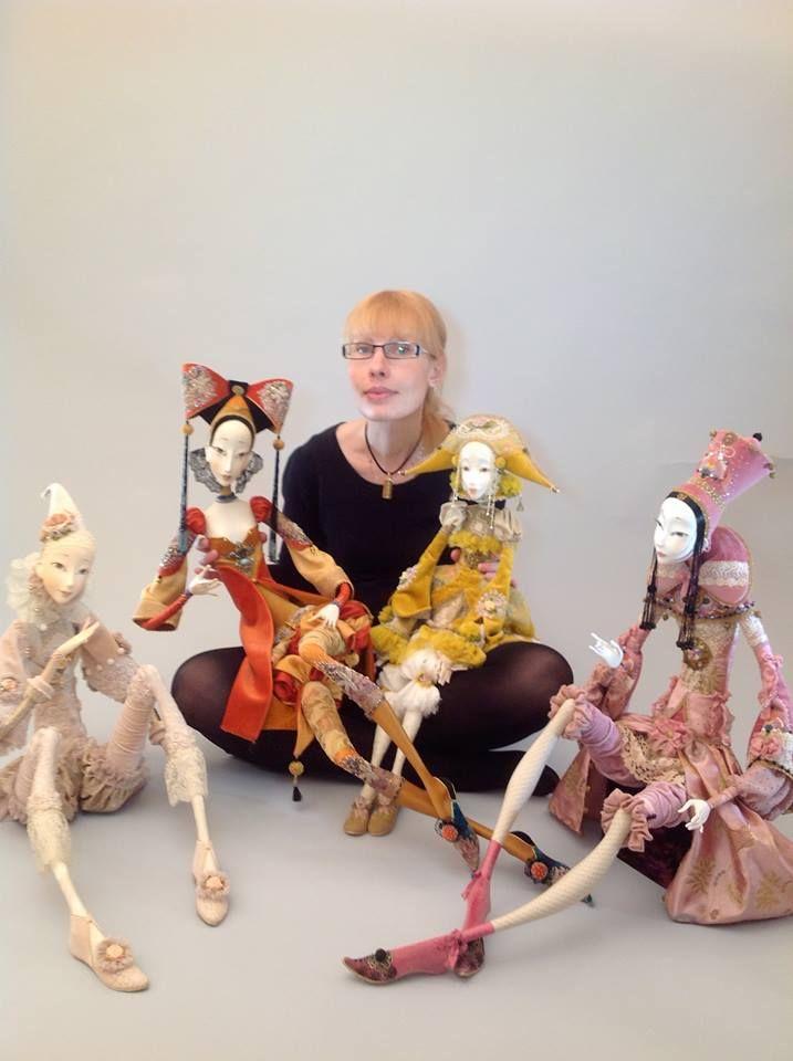 Art dolls by Annadan Pinchuk