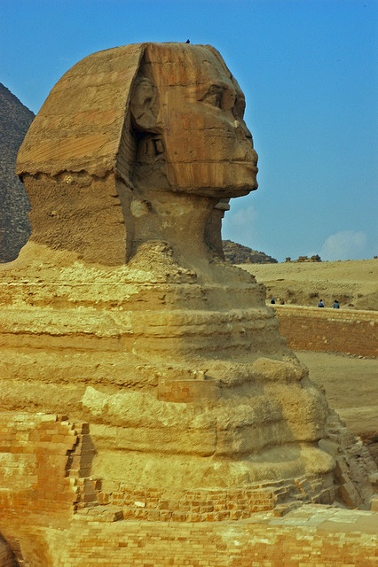 The Sphinx in Cairo, Egypt - by romsrini