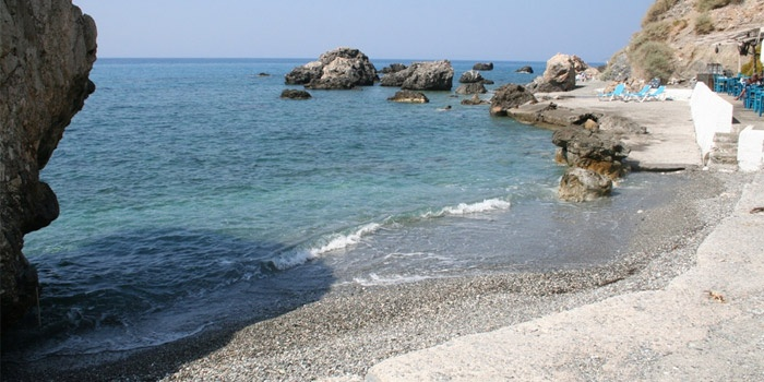Agia Fotini Beach in Karames, Rethimno, Crete