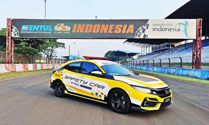Honda Civic Hatchback Rs Turbo Dan Civic Turbo Tampil Sebagai Official Car Issom 2020 Honda Civic Hatchback Hatchback Honda Civic