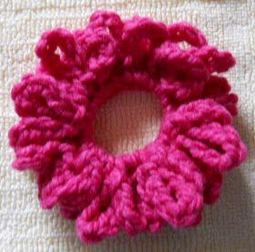 Free Crochet Pattern - Scrunchie
