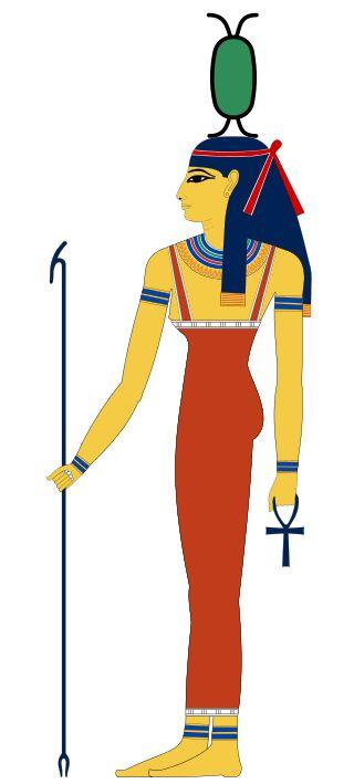 La diosa Neit: guerrera, diosa-madre y protectora del difunto.