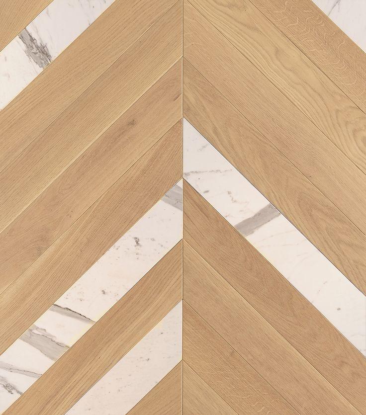 A livre ouvert : Chêne Point de Hongrie Javeline et Marbre Statuaire #parquet #art #interiordesign #interiorarchitecture #wood #woodfloor #paris #carresol #marbre #pointdehongrie