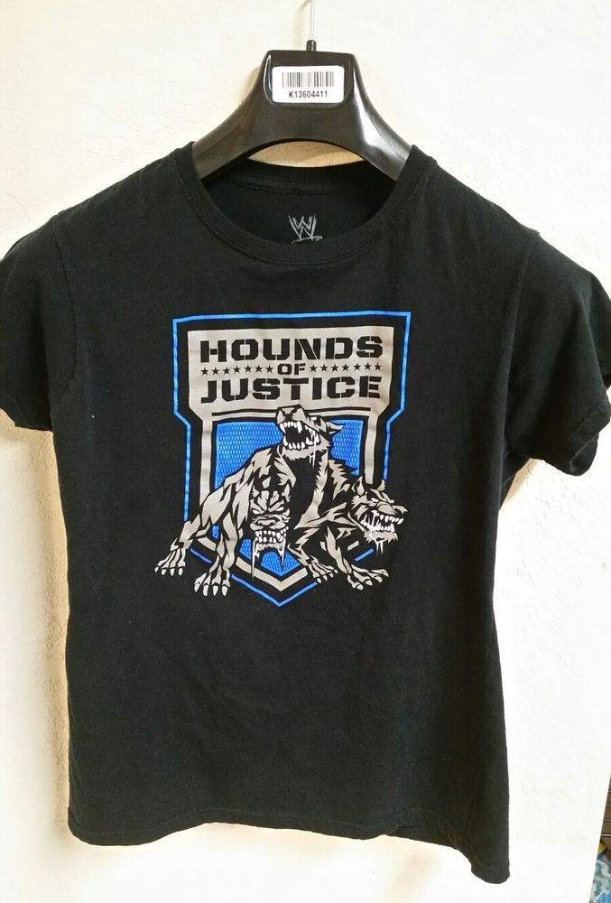 WWE Hounds of Justice Boys Shirt  | Sports Mem, Cards & Fan Shop, Fan Apparel & Souvenirs, Wrestling | eBay!