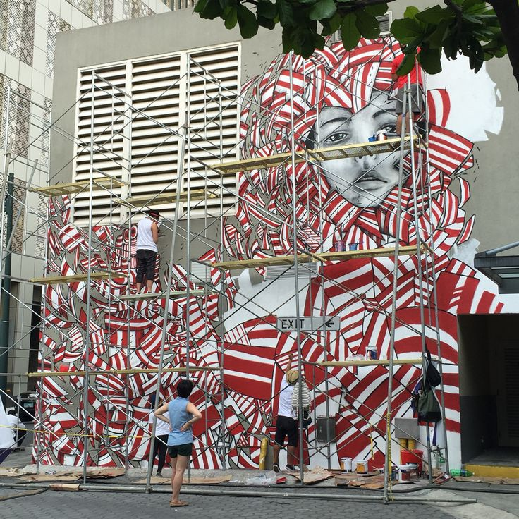 Street Art at High Street, BGC