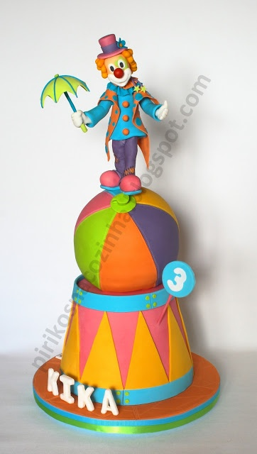 Clown Cake  https://www.facebook.com/Pirikos