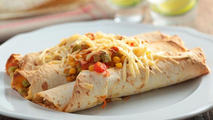 Enchilada met zwarte bonen en chili | VTM Koken