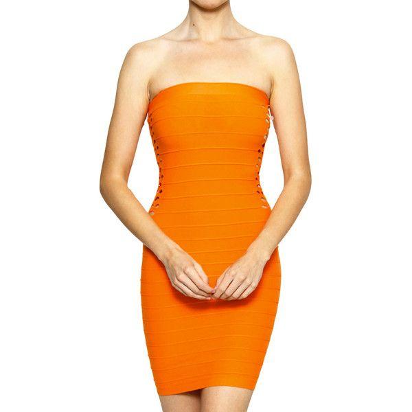 Kleid only orange