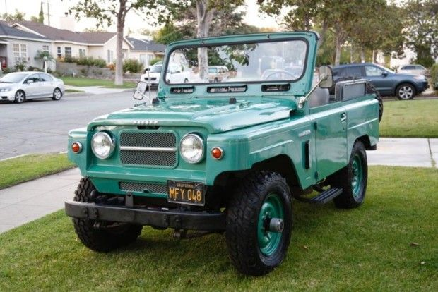 '67 Nissan Patrol 4x4 ... very cool.