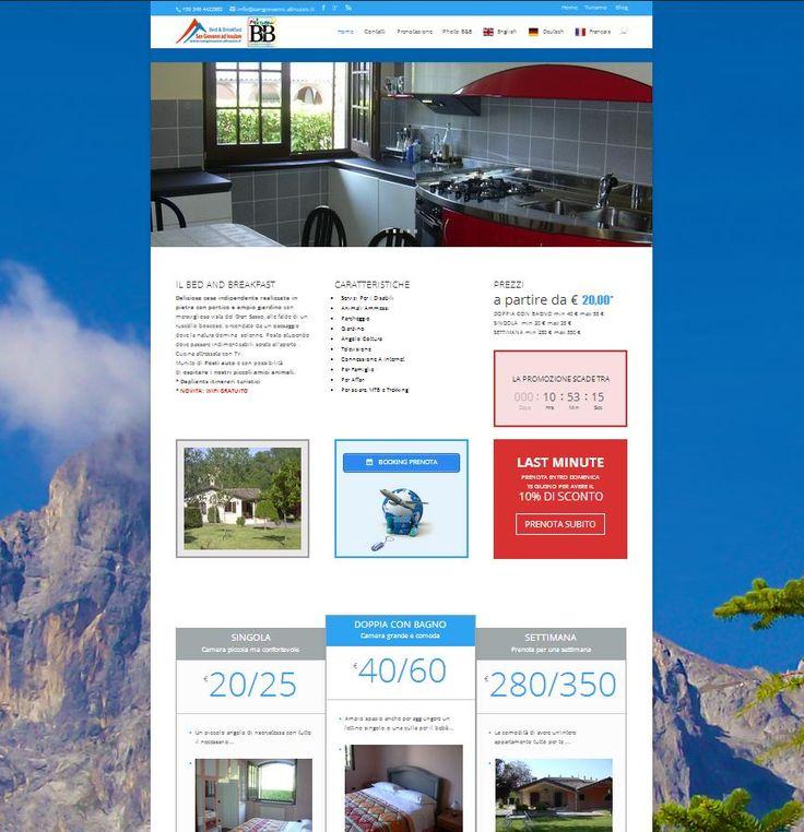 B&B San Giovanni ad Insulam  sito web: sangiovanni.abruzzo.it