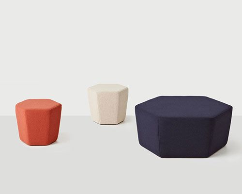Hex Ottoman Large | District