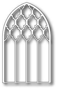 Poppystamps Dies, Grand Gothic Luminary Window