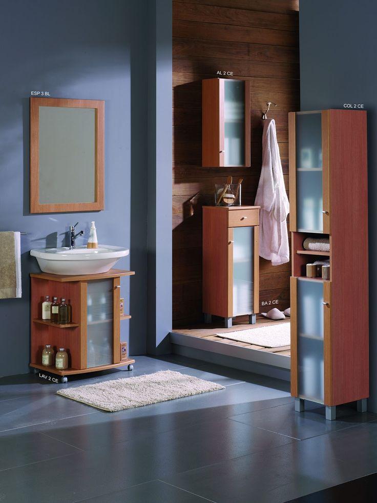 mueble bao barato bajo lavabo cerezo oferta