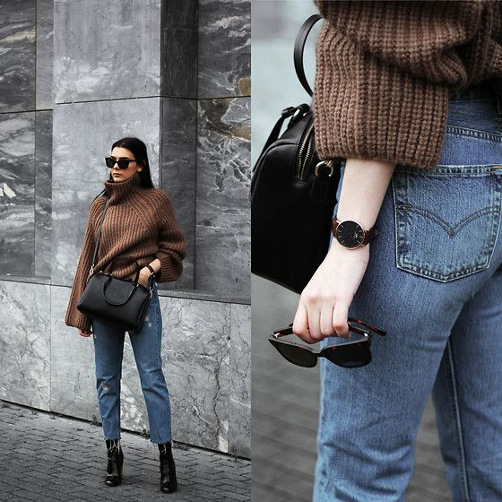 Get this look: http://lb.nu/look/8589581 More looks by Holynights Claudia: http://lb.nu/holynights Items in this look: Vi Pme Bag, Daniel Wellington Watch, Way Darby Sunglasses, Vi Pme Sweater, Levi's® 501 Vintage Jeans, Ego Patent Boots #chic #street #vintage #vipme #waydarby #danielwellington #levis #egosquad