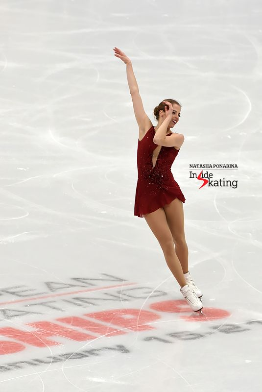 Ladies ~ Carolina Kostner (Italy) [photo ©Natasha Ponarina]