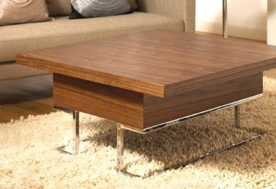Transformer furniture dwell 39 s convertible coffee table convertible coffee table - Dwell small spaces image ...
