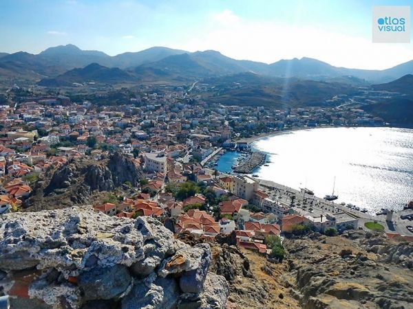 Myrina, Lemnos, Greece and an interactive map and cool website