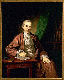 Portrait of Benjamin Rush in a banyan, 1783