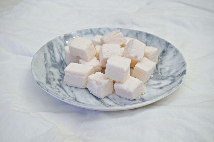 Sukkerfrie marshmallows med smak av sitron - Helene Ragnhild