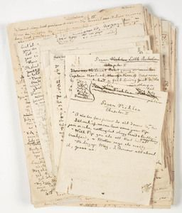 Manuscripts Collection:  This guide will help you to find and use our manuscript collections    ( Image: Ethel Turner's manuscript for Seven little Australians, published in 1893. From the State Library of NSW collection http://acms.sl.nsw.gov.au )