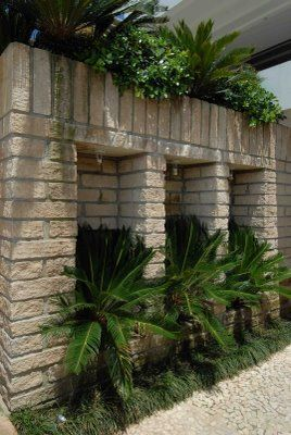 Bonita idéia com pedra grés In: http://www.pedrasgres.com/produtos/pedra-gres