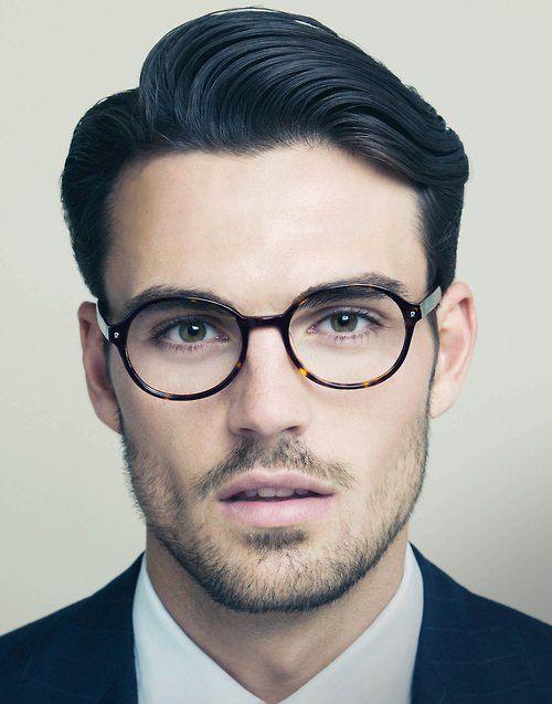 glasses and some scruff