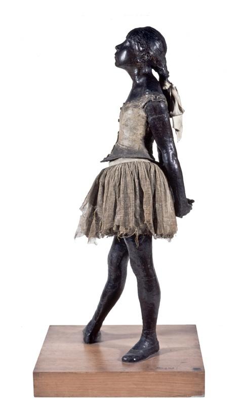 A exposição OBSESSÕES DA FORMA traz obras de Renoir, Degas e outras dezenas de artistas reverenciados em todo o mundo. (A Bailarina de Catorze Anos, de Degas). Fonte: Masp