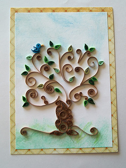 quilling ~ tree
