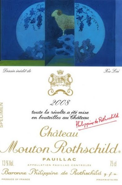 2008 Château Mouton Rothschild