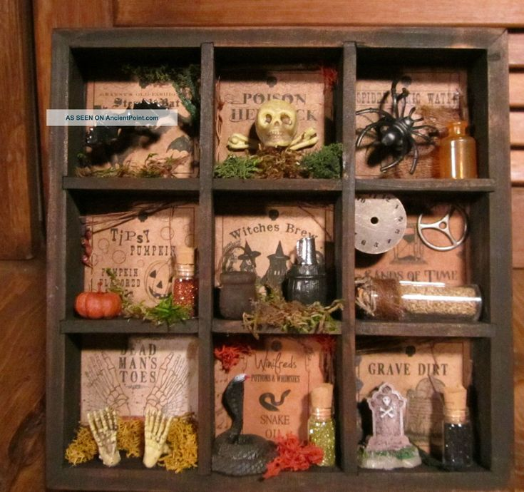 25 Best Ideas About Halloween Shadow Box On Pinterest