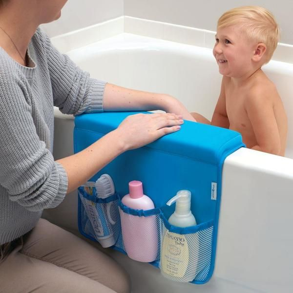 Make bathtime fun again for little ones and mom with this great InterDesign Bathtub Saddle Organizer. Featuring a large padded arm rest so that you can comfortably bathe your child, the saddle features four mesh pockets that are ideal for holding products, sponges, and toys! The InterDesign Tub Saddle Organizer would be ideal for any new or expecting mom this holiday season!
