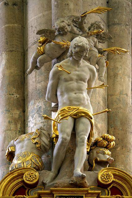 Saint Sébastien, Cathédrale d'Amiens by Mr-Pan on Flickr.