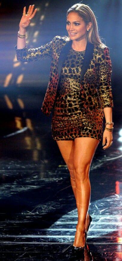 Jennifer Lopez - American Idol '2014' #fashion #style #inspiration #chic #lookbook #outfits #beauty #jenniferlopez #jlo #celeb