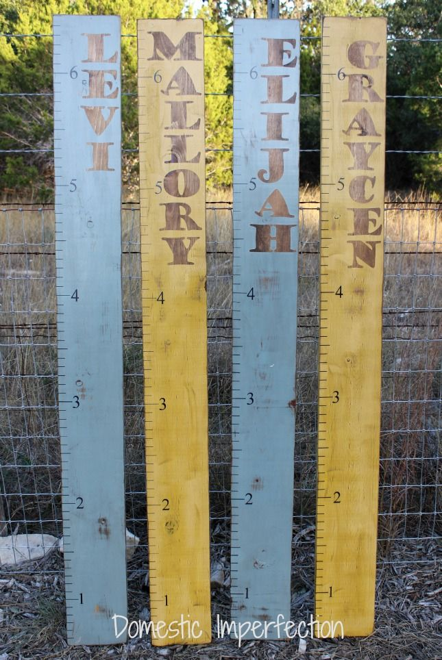 Custom Name Growth Charts — Domestic Imperfection
