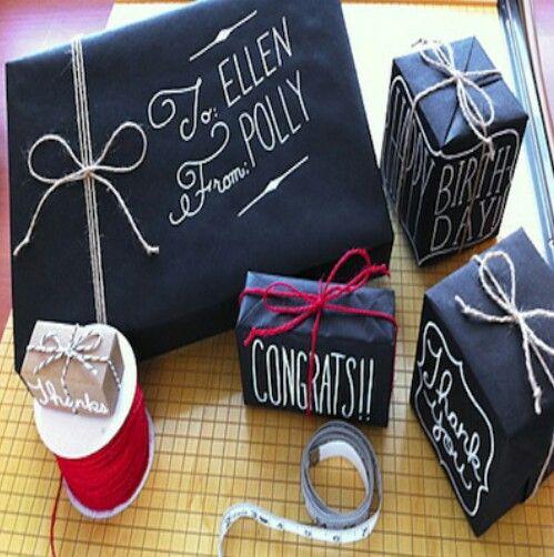 17 best images about detalles para regalo on pinterest - Envoltorios regalos originales ...