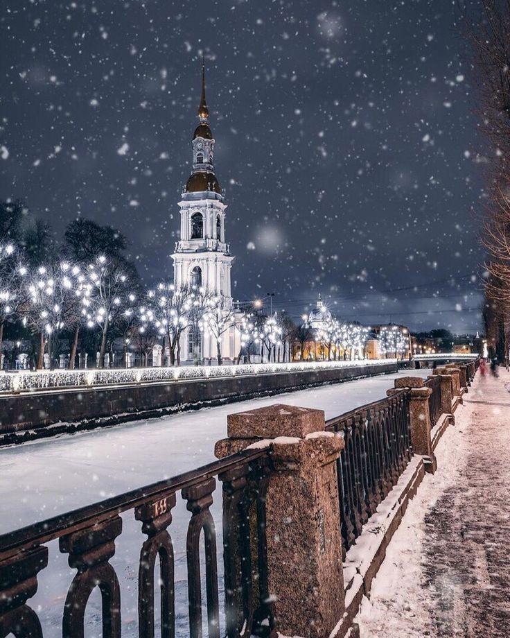 картинки зимний санкт петербург отек