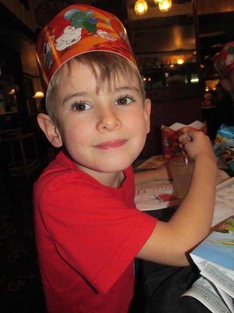Sebastian turns 5