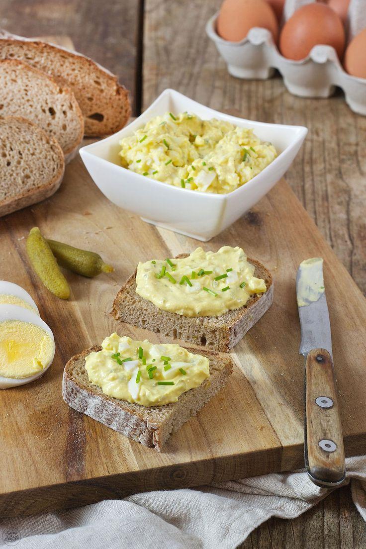 Eiaufstrich mit Topfen und Zwiebel nach einem Rezept von Sweets & Lifestyle®