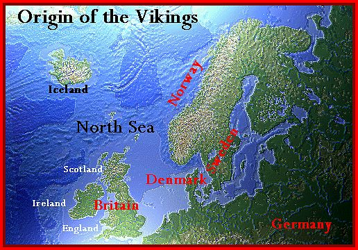 Vikings From Scandinavia | ... of the three Nordic races who collectivelybecame known as the Vikings