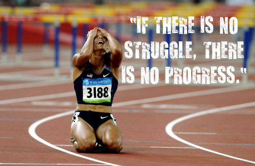 It would be more accurate if she were collapsed on the ground covered in dirt.: Life, Inspiration, Quotes, Fitness, Lolo Jones, Motivation, Track Field