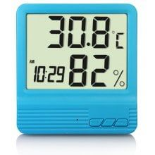 Digital Electronic Thermometer Hygrometer Clock