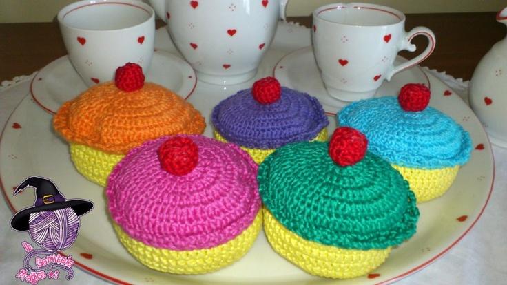 Cupcakes amigurumi