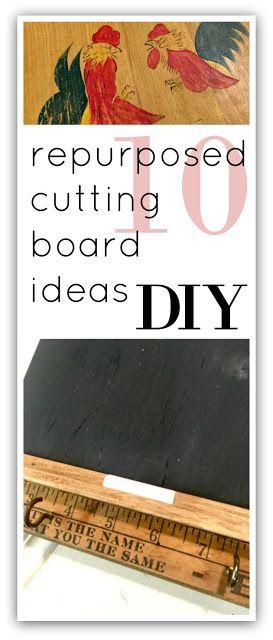 Ten DIY Thrifted Cutting Board Ideas