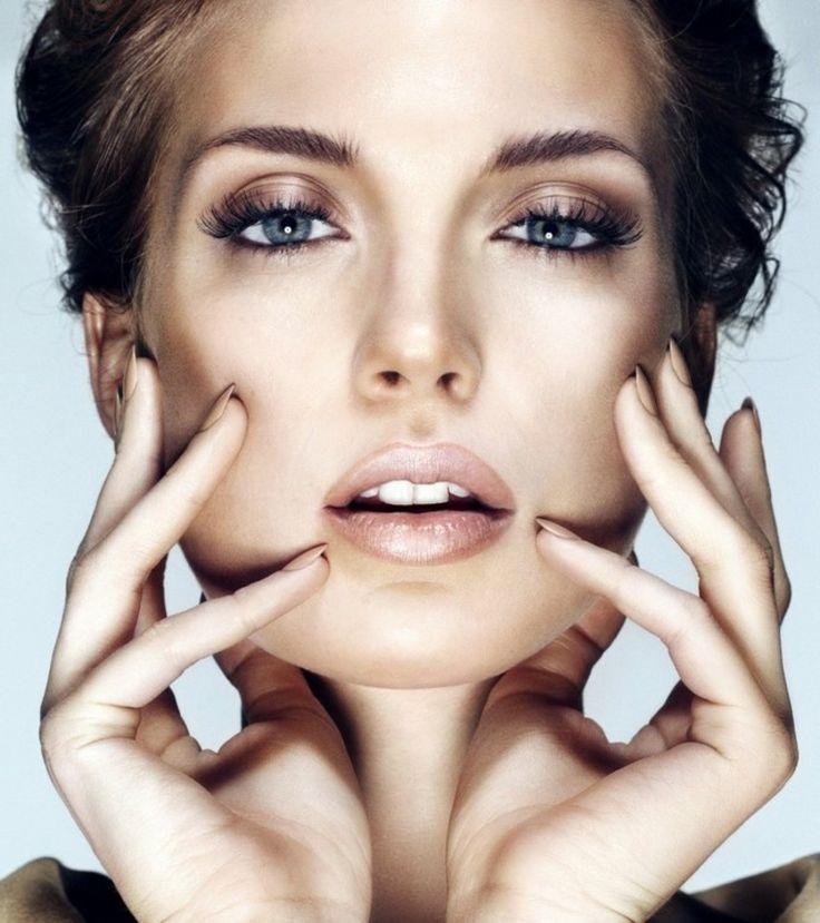 die Augen betonen Mascara bronze Lidschatten
