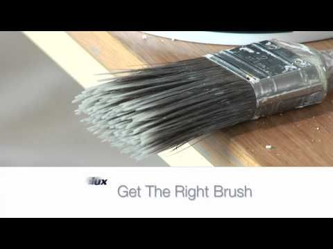 How To Apply Water Based Dulux Trade Paint.mov